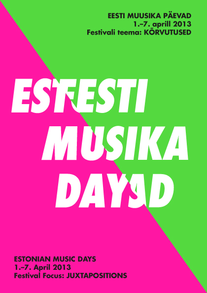 Estonian Music Days!